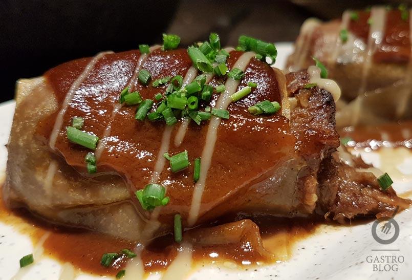 restaurante bascook canelon rabo de buey