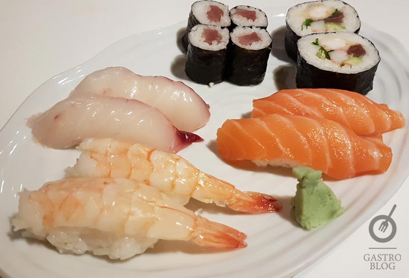 Degustacion sushi restaurante txubillo