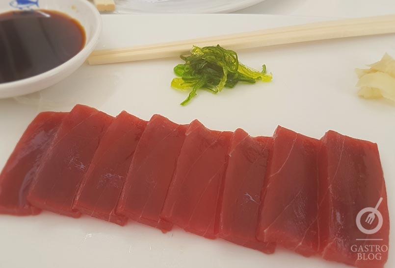 Sashimi lomo taberna del campero