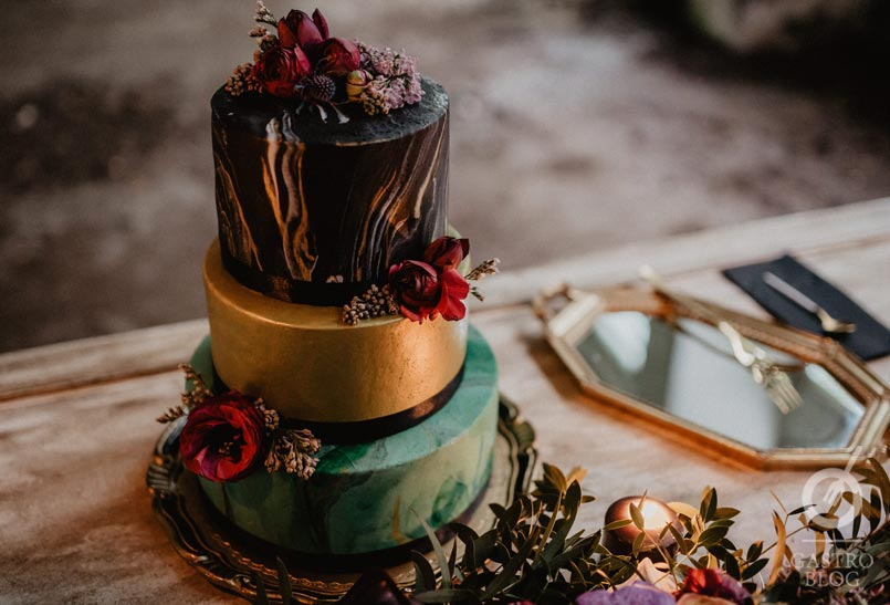 piensoendulce tarta de boda