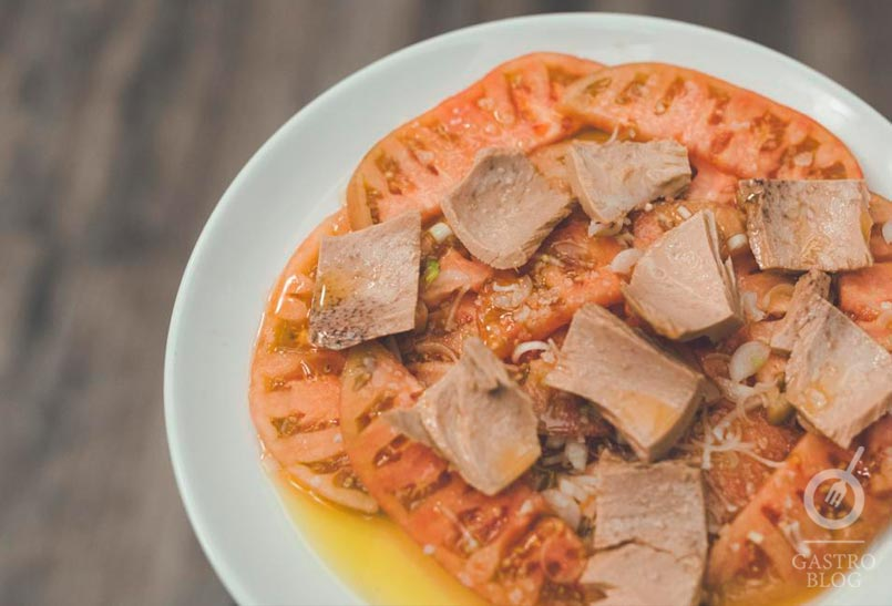 Xiri Donosti Ensalada Tomate y ventresca