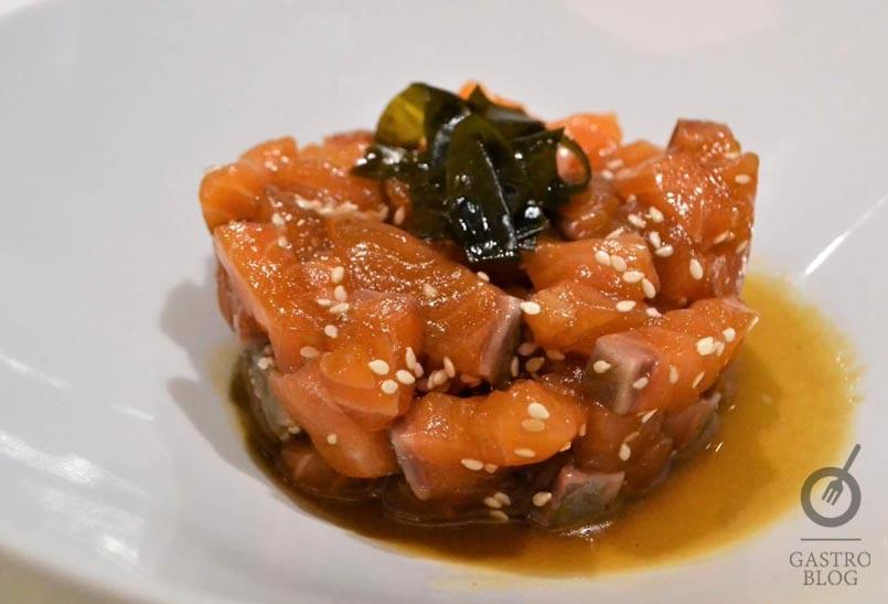 Tartar de Salmon Flammam gastrobar