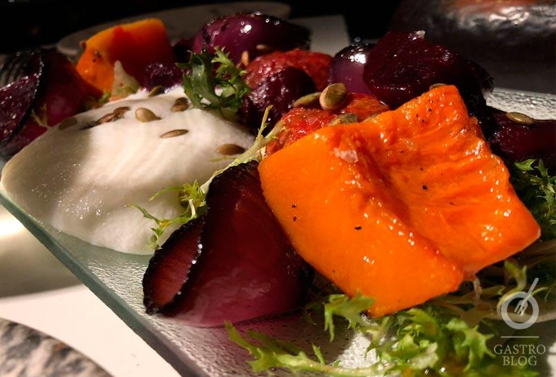 Txalupa verduras brasa