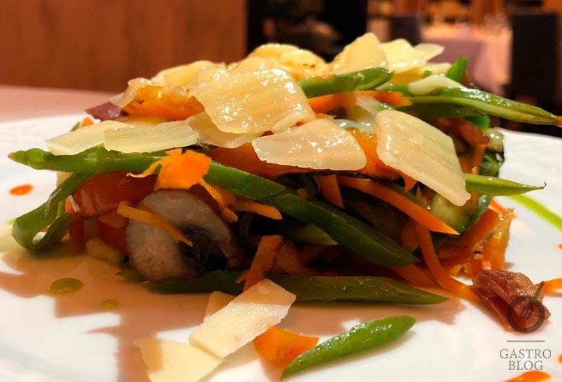 restaurante lenkonea verduritas plancha