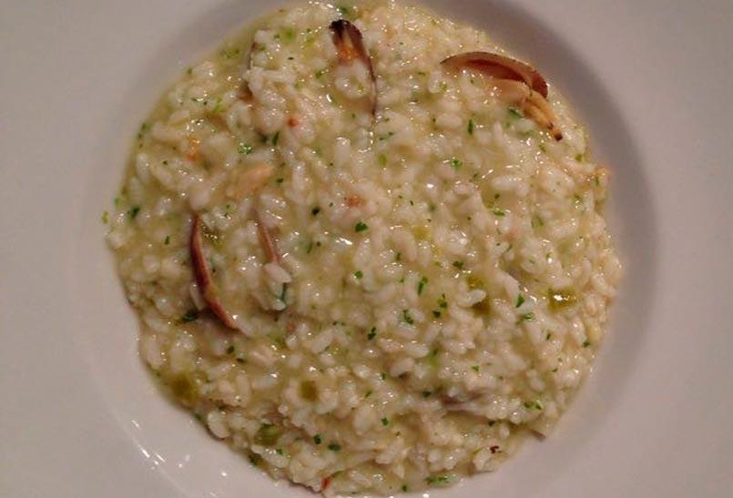 restaurante artola arroz con almejas