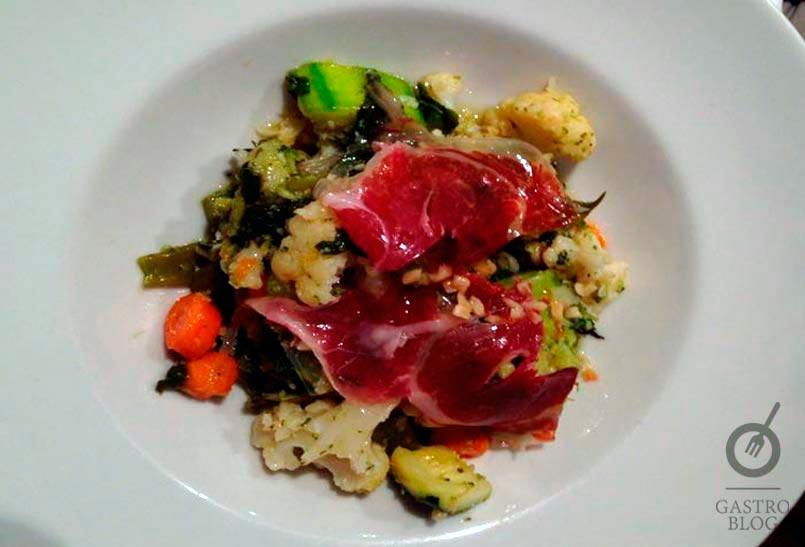 restaurante artola verduritas