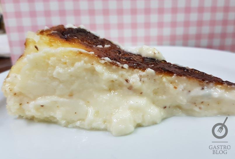 Receta tarta queso horno